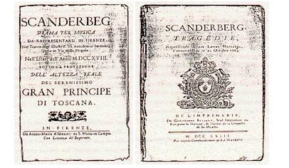 The Scanderberg Operas