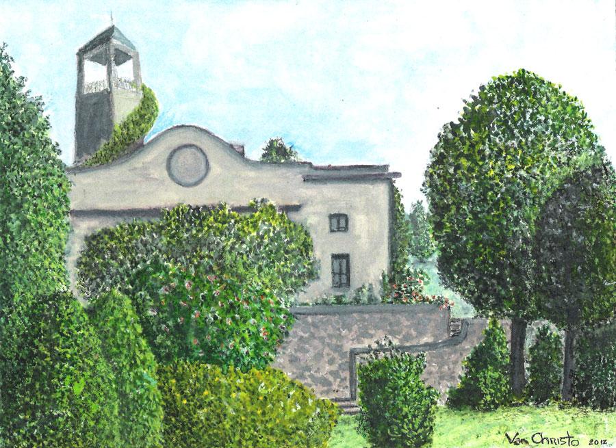Firenze #3, Watercolor.