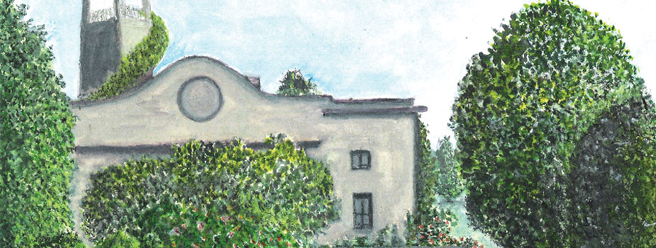 Firenze #3, Watercolor