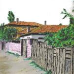 Korçe Street, Watercolor