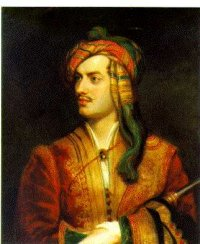 Lord Byron in Albanian Costume