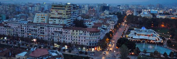 Tirane, Albania.
