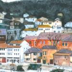Prizren #1, Watercolor