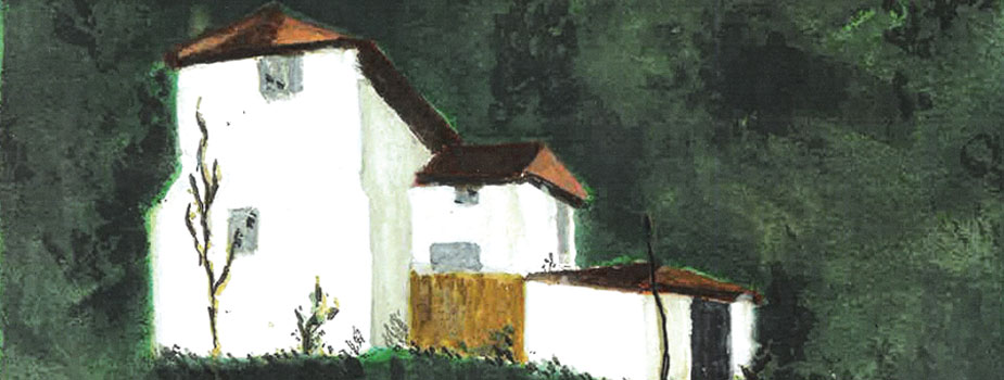 Prizren #2, Watercolor