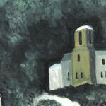 Prizren #3, Watercolor