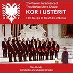 Kor I Ustërit Albanian Folk Songs CD